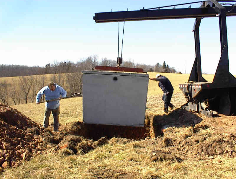 Installing a septic tank for septic systems in springfield mo for How big septic tank do i need