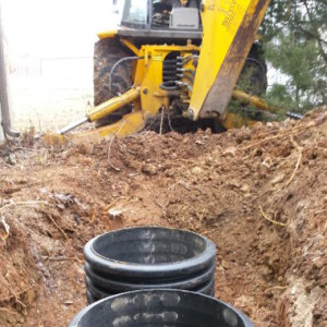 Metal septic tank locating in Nixa, MO