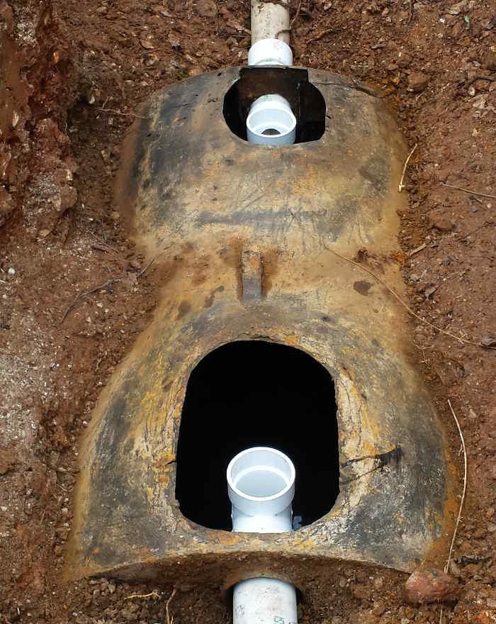 septic tank baffle installation nixa mo