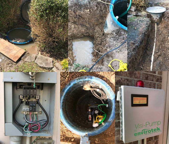 grinder pump replacement project branson mo 9-29-17