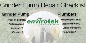 checklist for hiring plumbers in branson to repair grinder pump