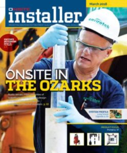 envirotek systems featured in onsite installer magazine